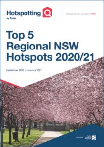Top 5 NSW Regional Hotspots