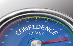 confidence high
