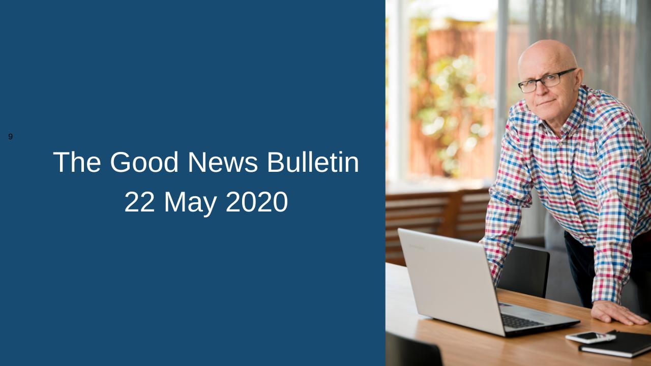 good news 22 may