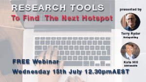 Research Tools to Find the next Hotspot