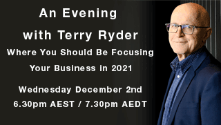 An evening with Terry Ryder