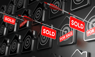 Houses selling quickly