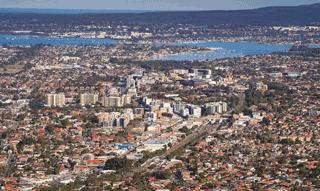 Sydney aerial south