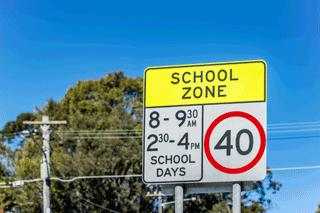 Prices Excel In School Zones