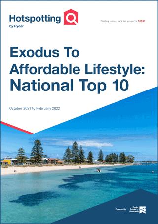 Exodus to affordable lifestyle